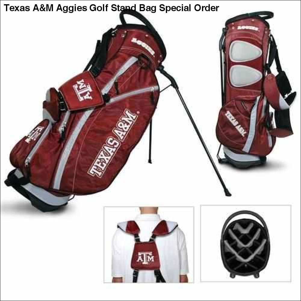 Texas A&M Aggies Golf Stand Bag Special Order - Teams