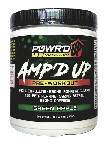 Amp'd Up - Pre-Workout
