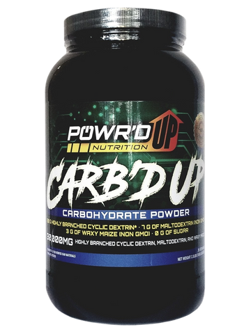 Carb'd Up - Carbohydrate Powder