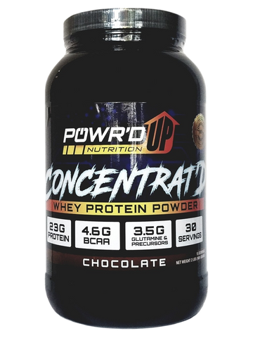Concentrat'd - Whey Concentrate Protein Powder