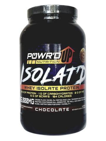 Isolat'd - Whey Isolate Protein Powder