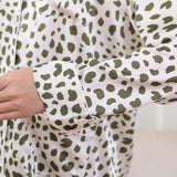 Silk Pajamas for Women Long Sleeve Button-Down Ladies Pajamas Sets Christmas Pajamas Set