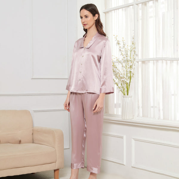 19 Momme Silk Cami Pajama Set For Women