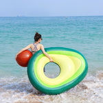 Inflatable Avocado Pool Float