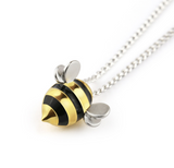 Buzzing Necklace-Earrings