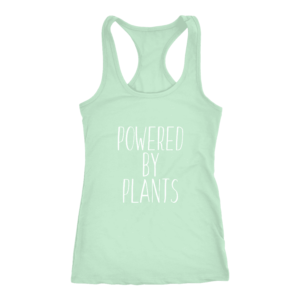 Powered by Plants Women Jersey - thevegansclub