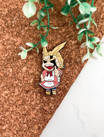 Mighty Maid Pin