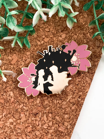 Sophie & Howl Pin