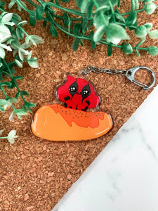 Deadpool Keychain