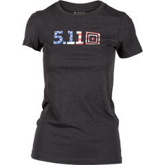 Women's Legacy USA Flag Fill T