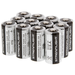 CR123A Lithium 3V Batteries (12 Pack)