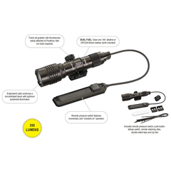 ProTac Railmount 1L Long Gun Light