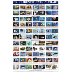 DRUG IDENTIFICATION WALL CHART