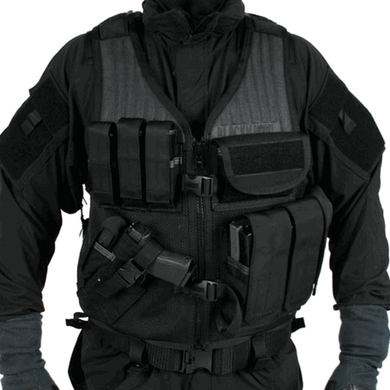 Blackhawk - Omega Elite Vest Cross Draw/Pistol Mag
