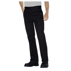 Men's Plain-Front Work Pant