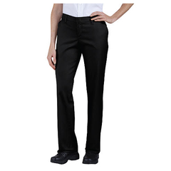 Women's Premium Relaxed-Fit Flat-Front Pant