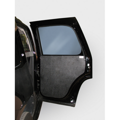 REAR DOOR PANELS: ABS BLACK