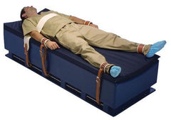 Bed Torso Restraint in Leather or Polyurethane
