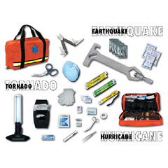 Emergencey Disaster Kit-Orange