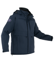 First Tactical - MEN'S TACTIX SYSTEM PARKA - Black | Midnight Navy