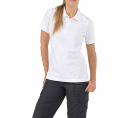 First Tactical - WOMEN'S PERFORMANCE SHORT SLEEVE POLO - White | Asphalt | Black | Khaki | Midnight Navy