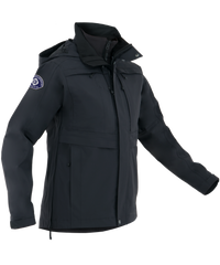 First Tactical - WOMEN'S TACTIX SYSTEM PARKA - Black | Midnight Navy