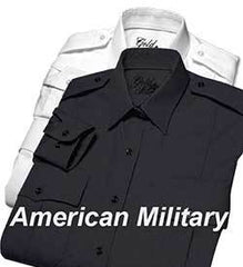 Gold Star American Military Shirt - Long Sleeve