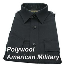 Gold Star Poly/Wool American Military - Womens Short Sleeve Shirt