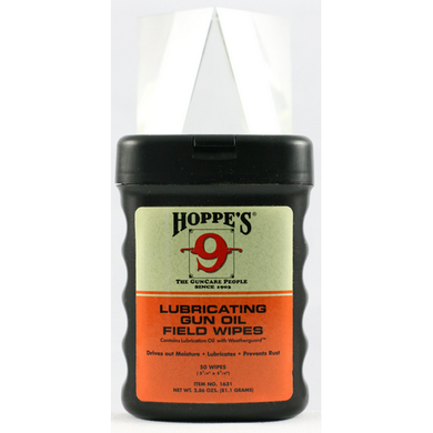 Gun Oil Field Wipes