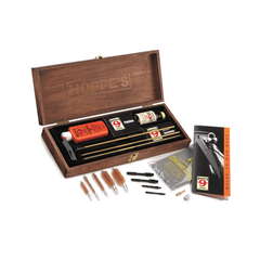 Wood Case Kit, Rifles And Shot