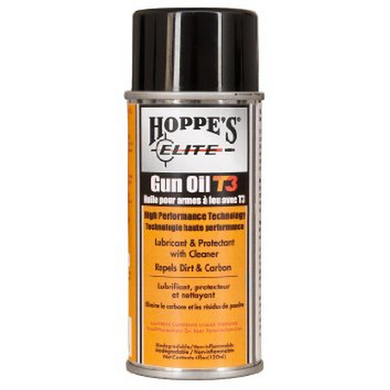 Hoppe'S Elite Aerosol 4 Oz Gun Oil W/T3, Bottle