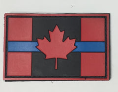 3D PVC CANADIAN FLAG - VELCRO PATCH