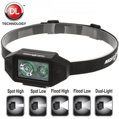 Low-Profile Multi-Function Dual-Light Headlamp