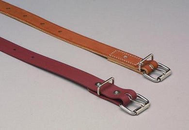 Non-Locking Roller-Buckle Leather and Polyurethane Belts