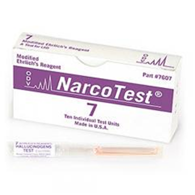 NARCOTEST INSTRUCTION MANUAL E