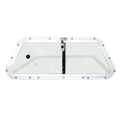 Center Sliding Polycarbonate Window