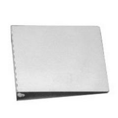 10 x11 3/4  Aluminum 1 1/4  3 Ring Binder