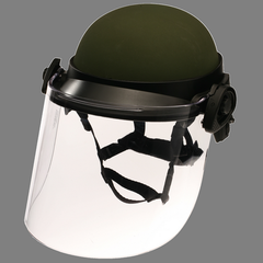 Dk6 Series Riot Face Shield