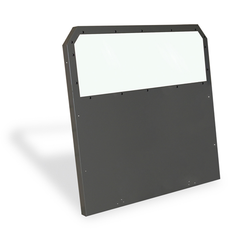 ½ Slider Polycarbonate Window with Expanded Metal Insert (Includes Recessed Panel and Pair of Bucket Seat Extension Panels)
