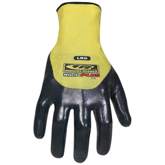NITRILE PLUS 3/4 DIP GLOVE - MEDIUM