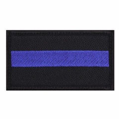 ROTHCO THIN BLUE LINE HOOK BACKED PATCH