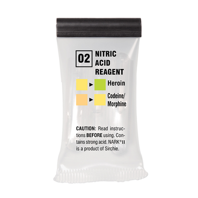 Sirchie - NARKII™ Test 02-Nitric Acid/ Box of 10