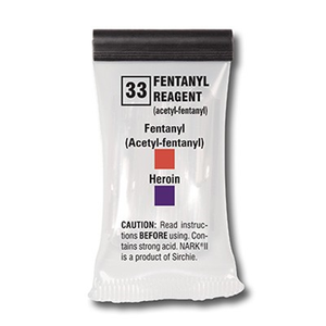 Fentanyl Reagent, box of 10 tests