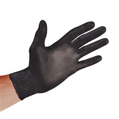Sirchie - Black Nitrile Powder-free ONYX gloves, 100ea.