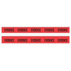 Sirchie - SIRCHMARK Evidence Integrity Tape with White Strip
