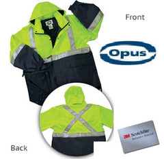 Duty Safety Rain Jacket Two Tone