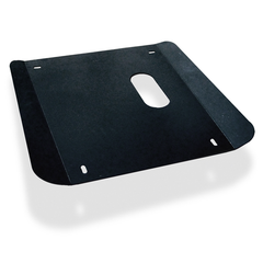 Black Powder Coated Steel Skid Plate (for use on 3.5 V6 engine only)