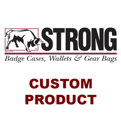 Strong Leather Company - Side Open Badge Case - Duty
