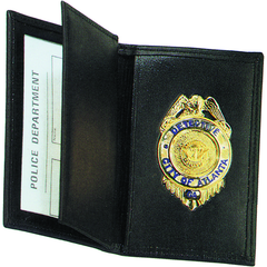 Strong Leather Company - Side Open Double ID Badge Case - Dress