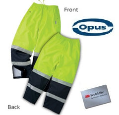 Duty Safety Rain Pants Two Tone